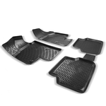 bmw 3 serisi e90 3d havuzlu paspas siyah