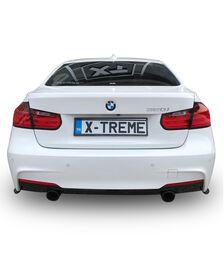 BMW F30 3 Serisi 2012 Sonrası Arka Tampon Alt Çıtası