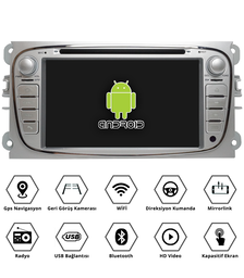 ford focus 7 inch android multimedya