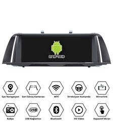 bmw f10 5 serisi android multimedya